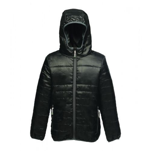 Regatta Kids Stormforce Thermal Jacket Black