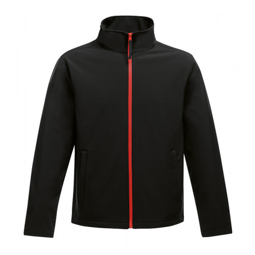 Regatta Ablaze Printable Softshell Jacket Black/Classic Red
