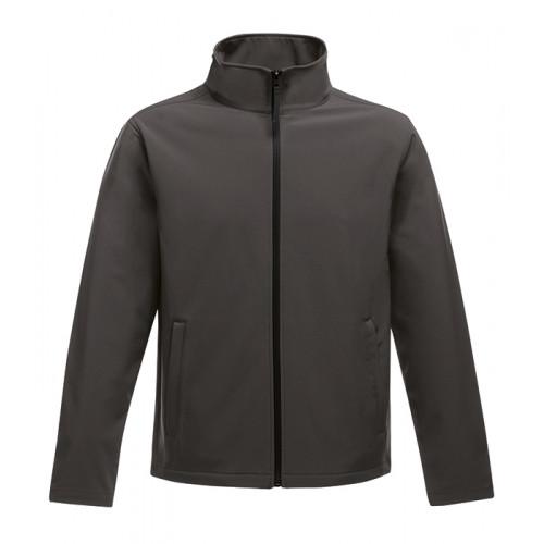 Regatta Ablaze Printable Softshell Jacket Seal Grey/Black