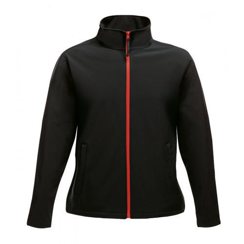 Regatta Women´s Ablaze Printable Softshell Jacket Black/Red
