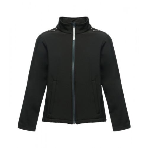 Regatta Kids Classmate Softshell Jacket Black