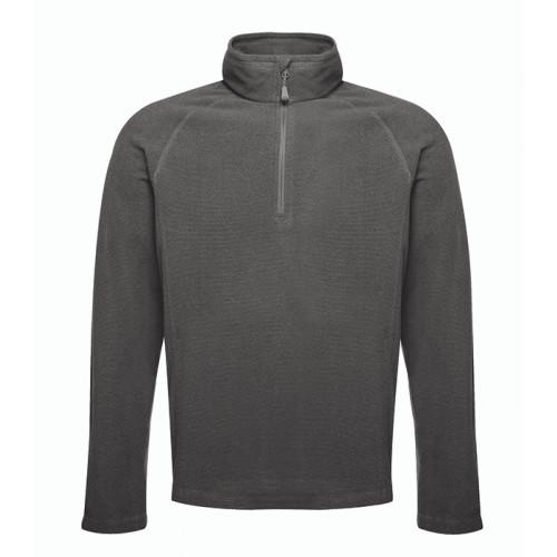 Regatta Parkline Zip Neck Fleece Seal Grey