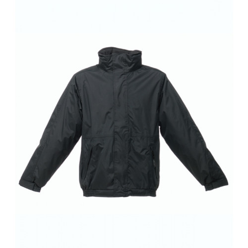 Regatta Dover Fleece Lined Bomber Jacket Black/Ash