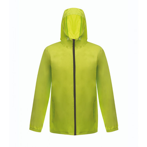 Standout Avant Waterproof Unisex Rainshell Lime Zest/Black