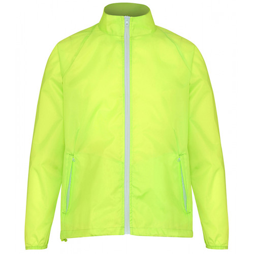 2786 Contrast Zero lightweight jacket Yellow/White