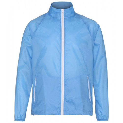 2786 Contrast Zero lightweight jacket Sky Blue/White