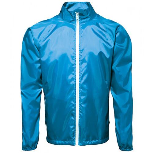 2786 Contrast Zero lightweight jacket Sapphire/White