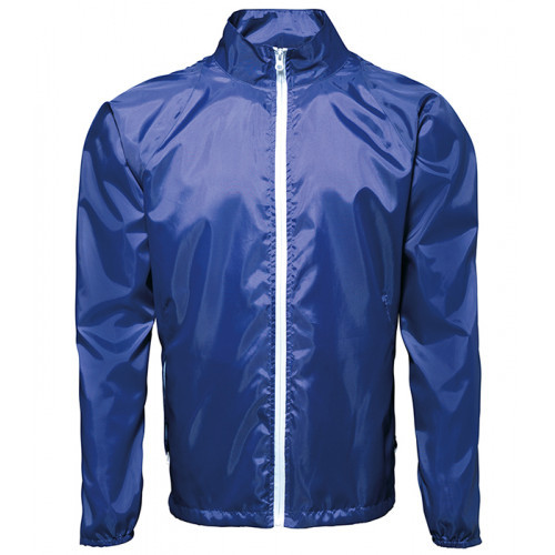 2786 Contrast Zero lightweight jacket Royal/White