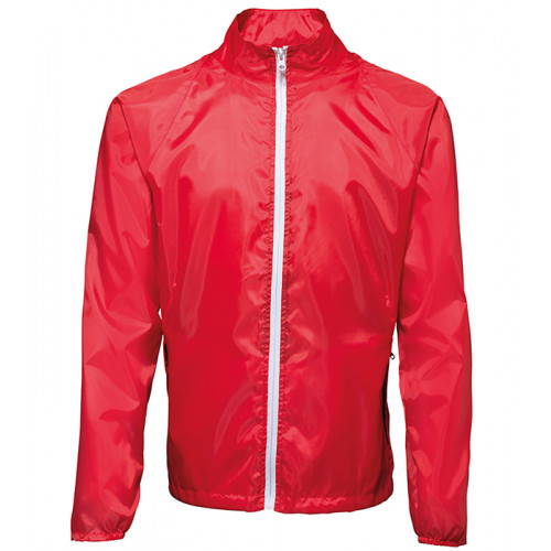 2786 Contrast Zero lightweight jacket Red/White