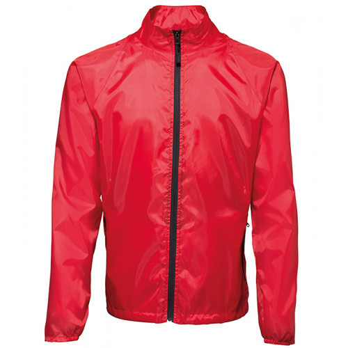 2786 Contrast Zero lightweight jacket Red/Black
