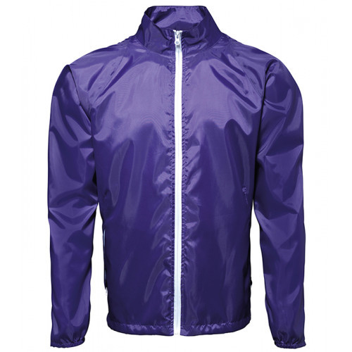 2786 Contrast Zero lightweight jacket Purple/White