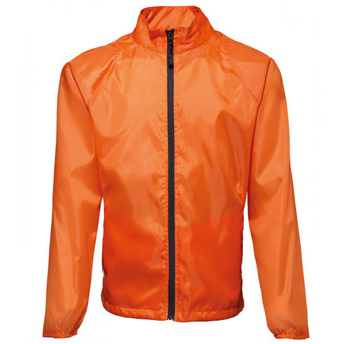 2786 Contrast Zero lightweight jacket Orange/Black