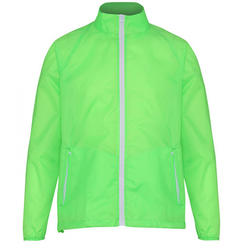2786 Contrast Zero lightweight jacket Lime/White
