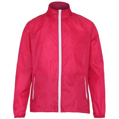 2786 Contrast Zero lightweight jacket Hot Pink/ White