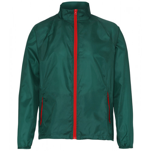 2786 Contrast Zero lightweight jacket Bottle/Red