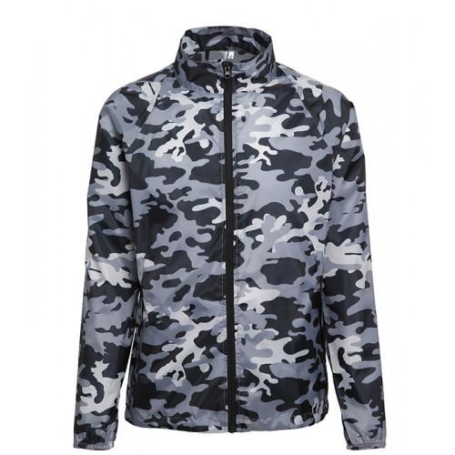 2786 Contrast Zero lightweight jacket Bold Camo Grey