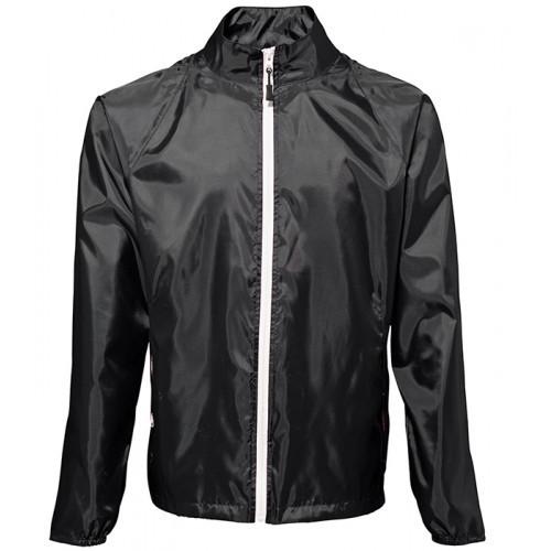 2786 Contrast Zero lightweight jacket Black/White