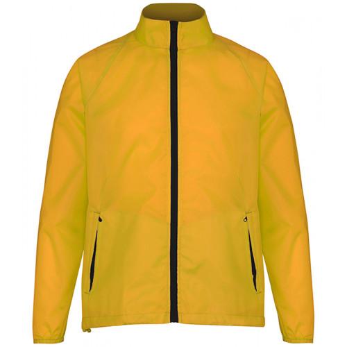 2786 Contrast Zero lightweight jacket Amber/Black