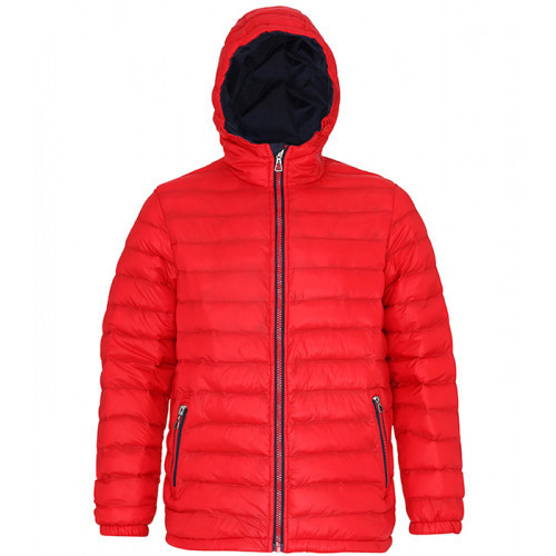 2786 Men's Padded Jacket Red/Navy