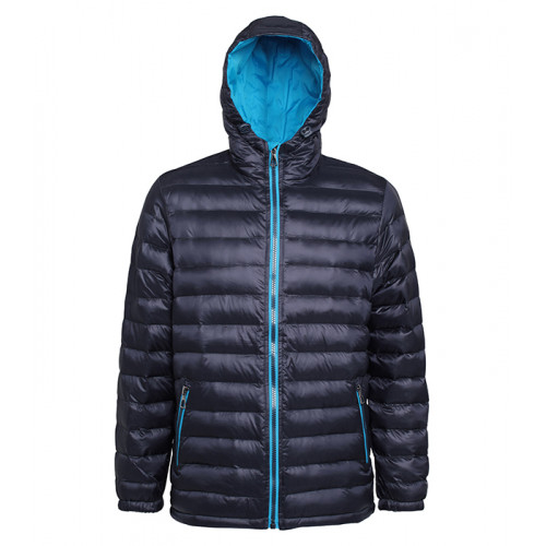 2786 Men's Padded Jacket Navy/Sapphire Blue