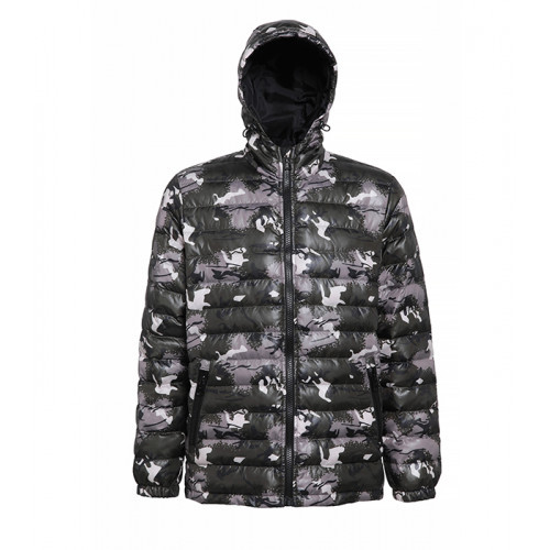 2786 Men's Padded Jacket Camo Green
