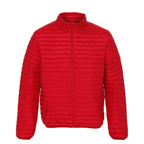 2786 Men's Tribe Fineline Padded Jacket Red