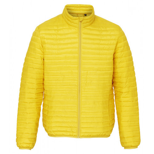 2786 Men's Tribe Fineline Padded Jacket Bright Yellow