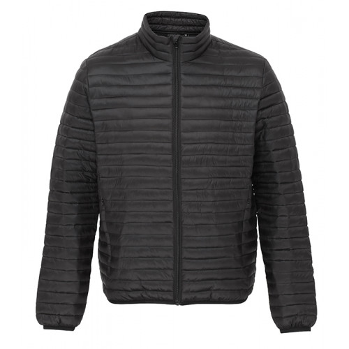 2786 Men's Tribe Fineline Padded Jacket Black