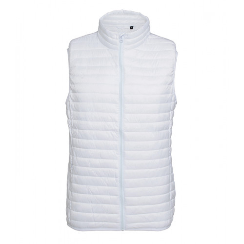 2786 M´s Tribe Fineline Padded Gilet White