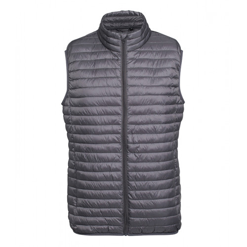 2786 M´s Tribe Fineline Padded Gilet Steel