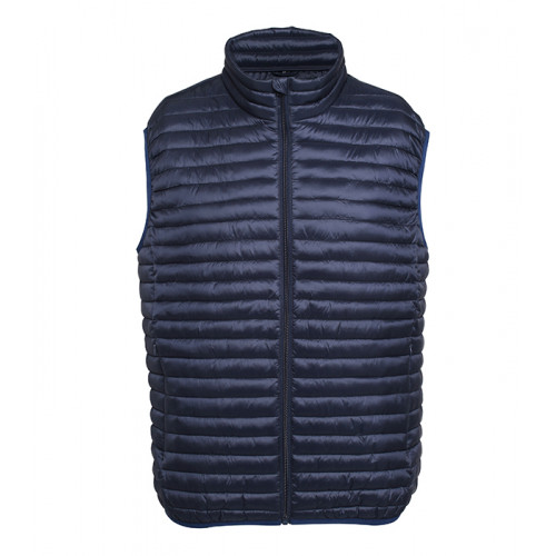 2786 M´s Tribe Fineline Padded Gilet Navy