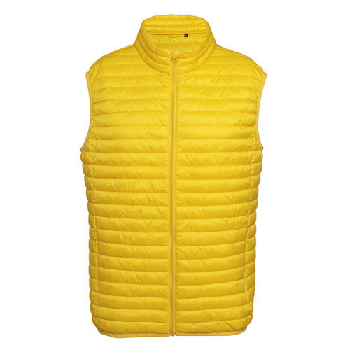 2786 M´s Tribe Fineline Padded Gilet Bright Yellow
