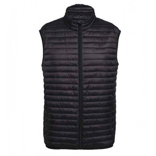 2786 M´s Tribe Fineline Padded Gilet Black