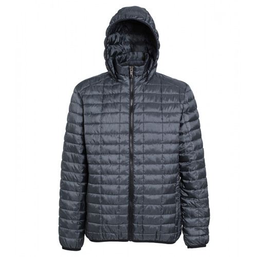 2786 M´s Honeycomb Hooded Jacket Steel