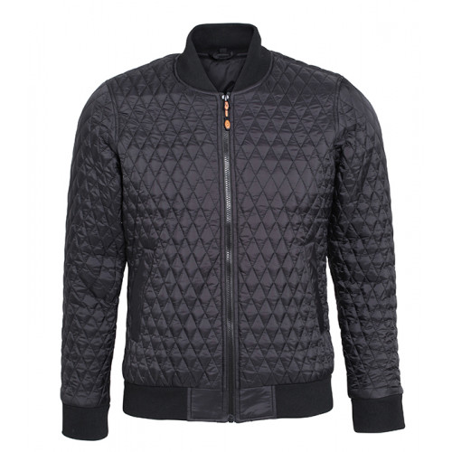 2786 M´s Quilted Flight Jacket Black