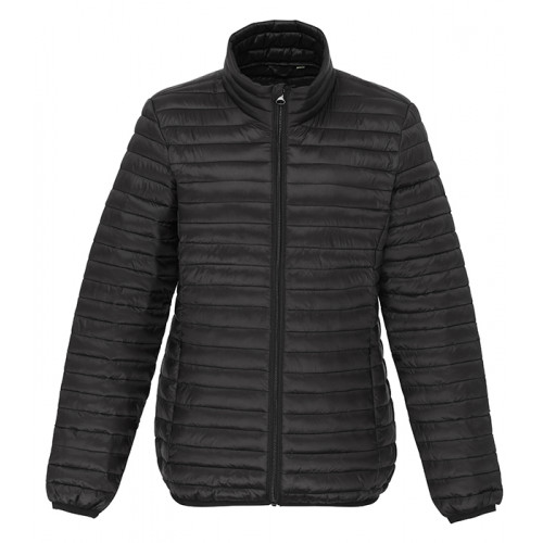 2786 Women's Tribe Fineline Padded Jacket Black