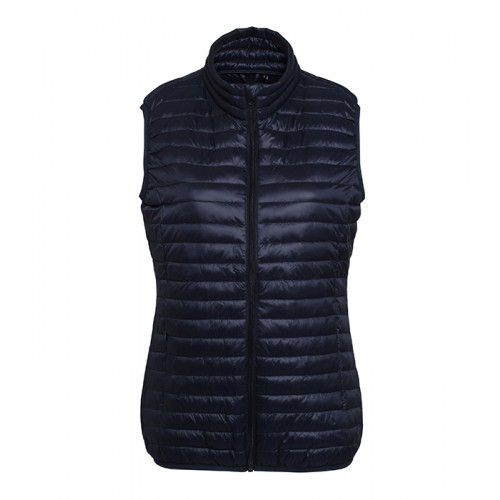 2786 W´s Tribe Fineline Padded Gilet Navy