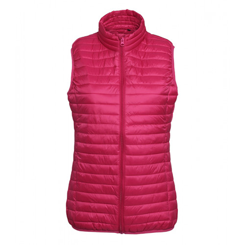 2786 W´s Tribe Fineline Padded Gilet Hot Pink