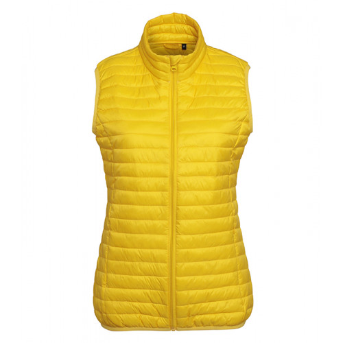 2786 W´s Tribe Fineline Padded Gilet Bright Yellow