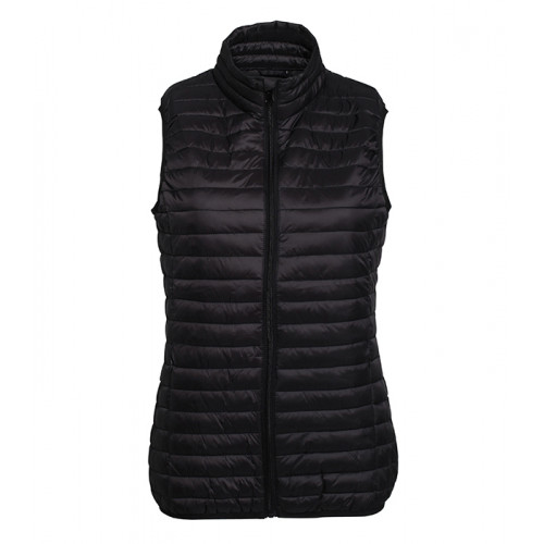 2786 W´s Tribe Fineline Padded Gilet Black