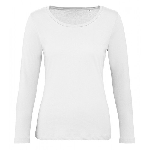 B and C Collection B&C Inspire LSL T women White