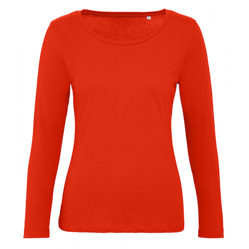 B and C Collection B&C Inspire LSL T women Fire Red