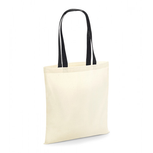 Westford Mill Bag For Life Contrast Handles Natural/Black