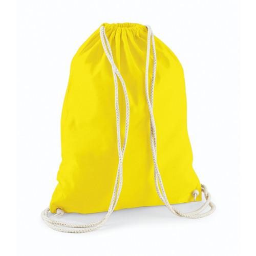 Westford Mill Cotton Gymsack Yellow