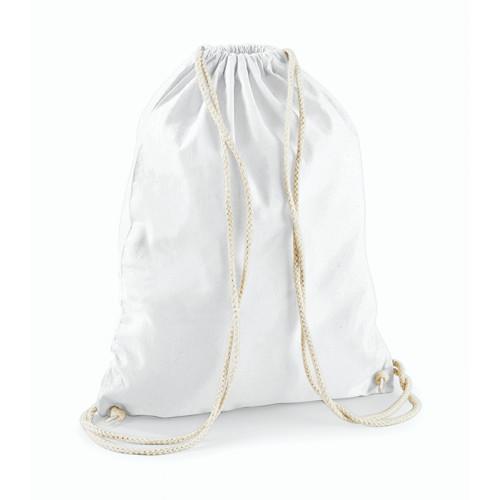 Westford Mill Cotton Gymsack White