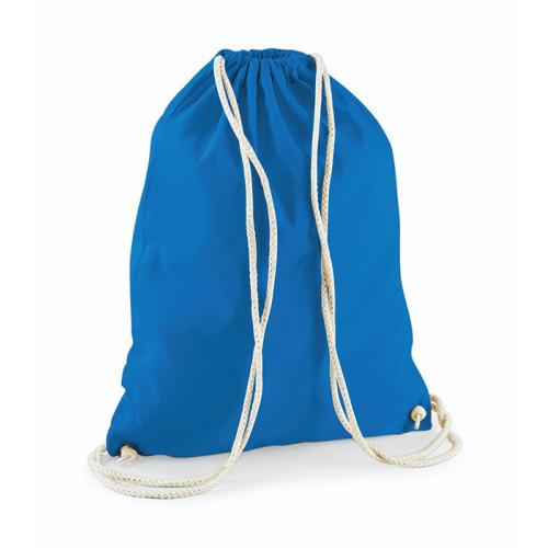Westford Mill Cotton Gymsack Sapphire Blue