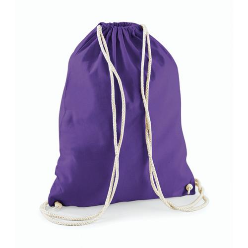 Westford Mill Cotton Gymsack Purple
