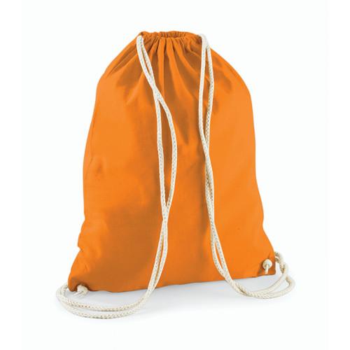 Westford Mill Cotton Gymsack Orange