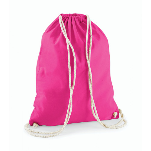 Westford Mill Cotton Gymsack Fuchsia