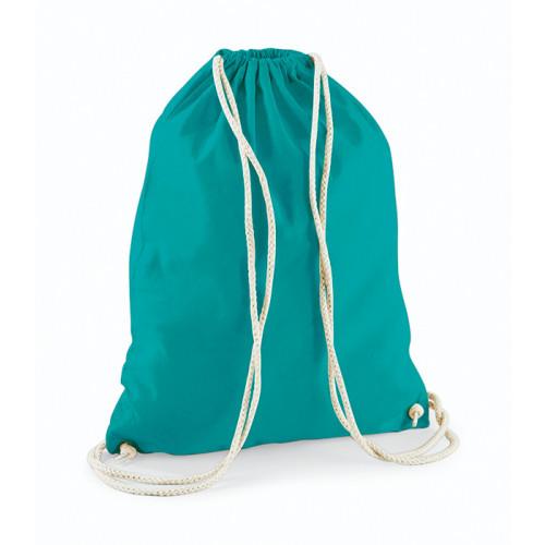 Westford Mill Cotton Gymsack Emerald